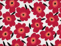 Flower red (Canvas)