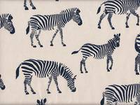 Zebra weiß (Canvas)