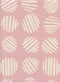 Cotton+Steel Coin Dots Cotton Candy