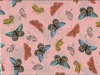 Cotton+Steel Monarch Peach Lawn Metallic