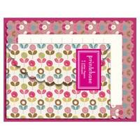 mini letter pack pink