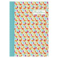 Sheri Lynn A5 Notebook orange flower