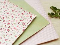 Fabric Sticker afresh 3er Set A4