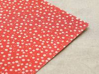 Fabric Sticker Strawberry flower A4