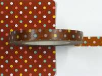 Masking Tape Dot choco 6mm