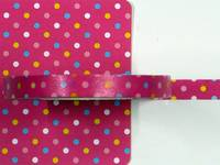 Masking Tape Dot pink 6mm