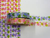 Masking Tape Blumen 2er Set 10mm