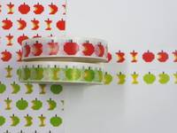 Masking Tape Pixel-Apfel 2er Set 10mm