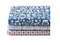 Fat Quarter 3er Pack Owl