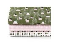 Fat Quarter 3er Pack Snow Village