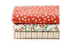 Fat Quarter 3er Pack Strawberry