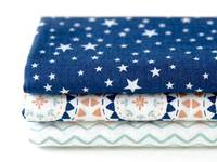 Fat Quarter 3er Pack Camping