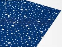 Fabric Sticker Camping starry A4