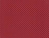 Fabric Sticker linen dot red A4