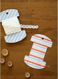 Fabric Sticker Knit 3er Set A4