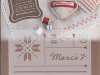 Faire - Stencil Sheet - Merci