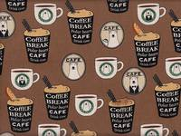 Coffee Bear braun