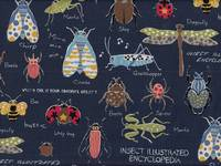 Insect Encyclopedia dunkelblau