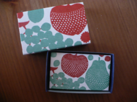 mini card 20pcs. apple and pear