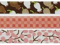Washi Tape Lily of the valley pink 3er Set 15mm