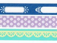Washi Tape Photo deco mint 3er Set 15mm