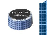 Washi Tape plaid navy 15mm