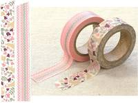 Masking Tape Botanic Garden 2er Set 15mm