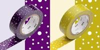 Washi Tape ararekomon 2er Set 15mm