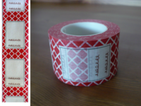 Masking Tape Label rot 30mm