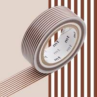 Washi Tape border brown 15mm