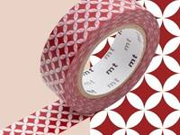 Washi Tape shippou beni 15mm