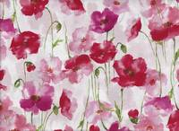 Watercolor Poppy red (Lawn)