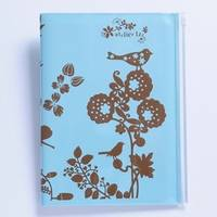 Notizbuch Atelier LZC mobile size A6 light blue