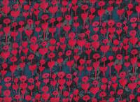 Cotton+Steel Love Flower Cherry Rayon