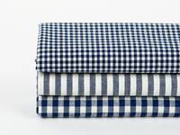 Fat Quarter 3er Pack natural & simple Navy