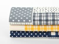 Fat Quarter 3er Pack Patch play (Leinen)