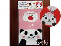 Clear Pack Small Panda 5pcs