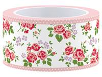 Masking Tape Rose 25mm