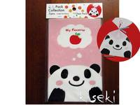 Clear Pack Panda 5pcs