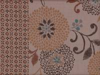 Patch Chrysanthemen beige
