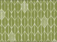 Wachstuch Leaf Pattern green