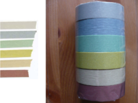Washi Tape uni smoke 6er Set A 15mm