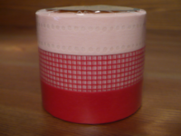 Washi Tape Red 3er Set 15mm