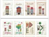 Stamp Sticker Homely
