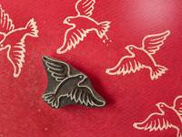 Blockwallah Stempel - Peace Bird