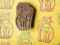 Blockwallah Stempel - Cat