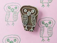 Blockwallah Stempel - Kind Owl