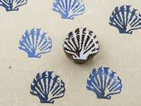 Blockwallah Stempel - Seashell