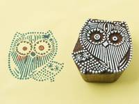 Blockwallah Stempel - Owl Family