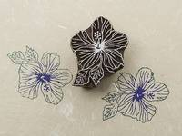 Blockwallah Stempel - Shoe Flower